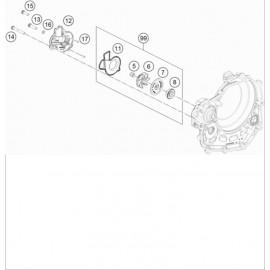 Pompe à eau ( KTM 450 SX-F 2019 )
