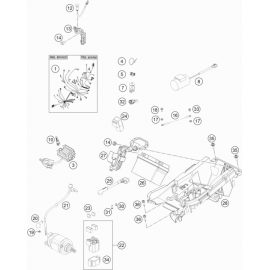 Cables, Faisceaux ( KTM 450 SX-F Herlings 2019 )