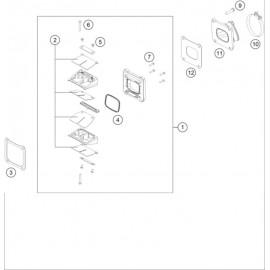 Boîte à clapets ( KTM 125 XC-W 2019 )