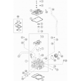 Culasse ( KTM 250 SX-F 2020 )