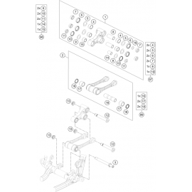 Biellette ( KTM 350 SX-F 2020 )