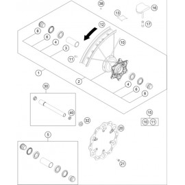 Roue avant ( KTM 350 SX-F 2020 )