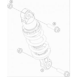 Amortisseur arrière ( KTM 50 SX-MINI 2020 )