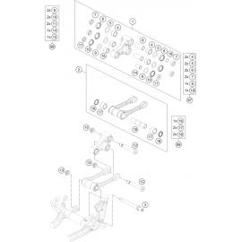 Biellette ( KTM 250 SX-F-PRADO 2020 )