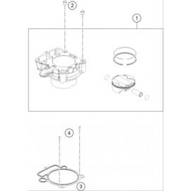 Cylindre ( KTM 250 SX-F-PRADO 2020 )