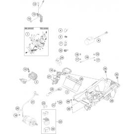 Cables, Faisceaux ( KTM 450 SX-F-CAIROLI 2020 )
