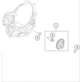 Arbre d'équilibrage ( KTM 450 SX-F-CAIROLI 2020 )