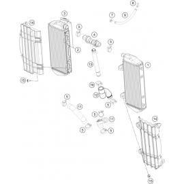 Refroidissement ( KTM 450 SX-F-CAIROLI 2020 )