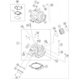 Culasse ( KTM 450 SX-F-CAIROLI 2020 )