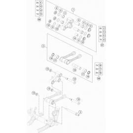 Biellette ( KTM 125 SX 2021 )