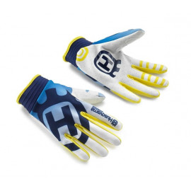 RAILED GLOVES WHITE S/8