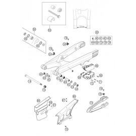 Bras oscillant ( KTM 525 EXC-R 2003 )