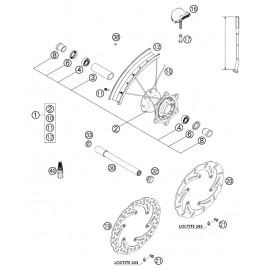 Roue avant ( KTM 525 EXC-R 2003 )