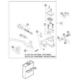 Cylindre de frein avant ( KTM 525 EXC-R 2003 )