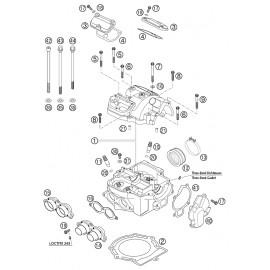Culasse ( KTM 525 EXC-R 2003 )