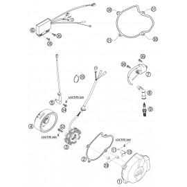 Allumage ( KTM 525 EXC-R 2003 )