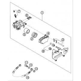 Etrier de frein arrière ( KTM 525 EXC-R 2003 )