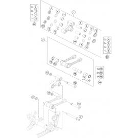 Biellette ( KTM 350 SX-F 2021 )