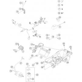 Cables, Faisceaux ( KTM 350 SX-F 2021 )