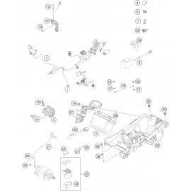 Cables, Faisceaux ( KTM 450 SX-F 2021 )