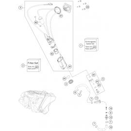 Pompe à essence ( KTM 250 SX-F-TROY-LEE 2021 )