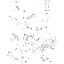 Cables, Faisceaux ( KTM 250 SX-F-TROY-LEE 2021 )
