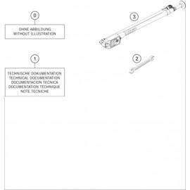 Kit accessoire ( KTM 250 SX-F-TROY-LEE 2021 )