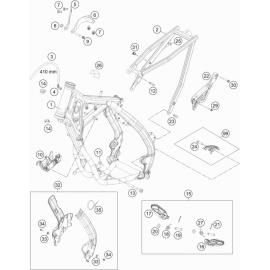 Cadre ( KTM 85 SX-19-16 2021 )