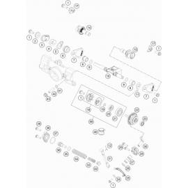 Valves d'échappement ( KTM 85 SX-19-16 2021 )