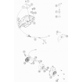 Allumage ( KTM 85 SX-17-14 2021 )