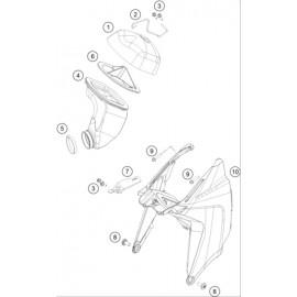 Filtre à air ( KTM 65 SX 2021 )