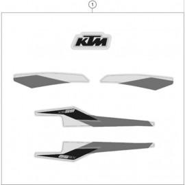 Décos, adhésif ( KTM 65 SX 2021 )