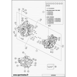Carter moteur (Husqvarna FC 350 2016)