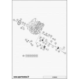 pompe à huile (Husqvarna FC 350 2016)