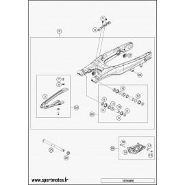 Bras oscillant (Husqvarna FC 450 2016)