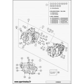 Carter moteur (Husqvarna FC 450 2016)