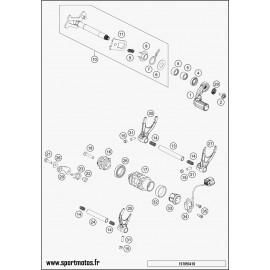 Mécanisme Chgt vitesse (Husqvarna FC 450 2016)
