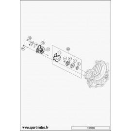 Pompe à eau (Husqvarna FC 450 2016)