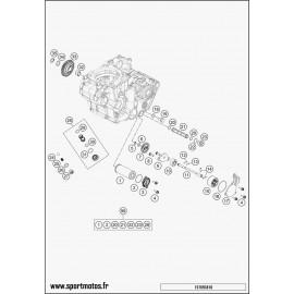 pompe à huile (Husqvarna FC 450 2016)