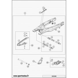 Bras oscillant (Husqvarna FS 450 2016)
