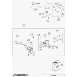 Cylindre de frein avant (Husqvarna FS 450 2016)