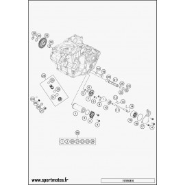 pompe à huile (Husqvarna FS 450 2016)