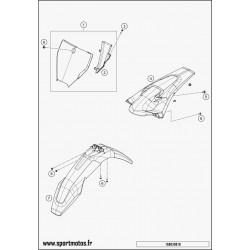 SPECIAL SCREW M6X15X3 (Husqvarna FS 450 2016)