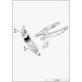 Amortisseur arrière (Husqvarna TE 125 2015)