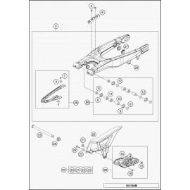 Bras oscillant (Husqvarna TE 125 2015)