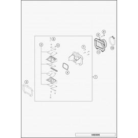 Boîte à clapets (Husqvarna TE 125 2015)