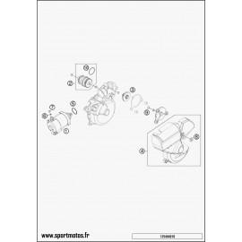 Démarreur électrique (Husqvarna TE 250 2015)
