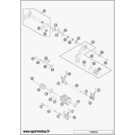 Mécanisme Chgt vitesse (Husqvarna TE 300 2015)