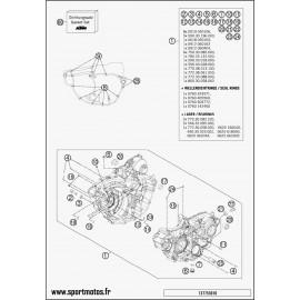 Carter moteur (Husqvarna FE 250 2015)