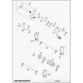 Mécanisme Chgt vitesse (Husqvarna FE 450 2015)